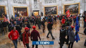 ایالات متحده آمریکا: افراد کشته شده هنگام حمله به پایتخت در واشنگتن – آمریکا و کانادا – بین المللی