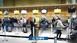 انگلیس ورود پروازها از کلمبیا – مناطق بیشتر – بین المللی را ممنوع می کند