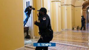 چندین پلیس Capitol در حین حمله تحقیقاتی – ایالات متحده و کانادا – بین المللی حذف شدند