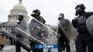 ایالات متحده آمریکا: پلیس در درگیری ها در پایتخت آمریکا – ایالات متحده آمریکا و کانادا – بین المللی کشته می شود