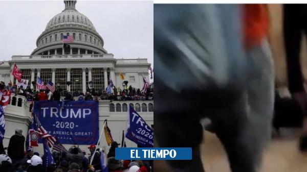 هرج و مرج در ایالات متحده: لحظه ای که طرفدار ترامپ در پایتخت آمریکا – آمریکا و کانادا – بین المللی درگذشت