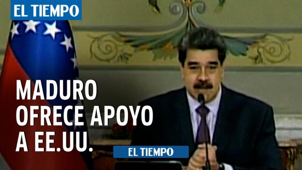 """ونزوئلا: نیکلاس مادورو پس از حمله به کاپیتول در واشنگتن """"پشتیبانی"""" ایالات متحده را ارائه می دهد – ونزوئلا – بین المللی"""