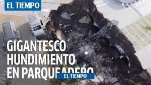 سقوط غول پیکر پارکینگ بیمارستان در ایتالیا – اروپا – بین المللی