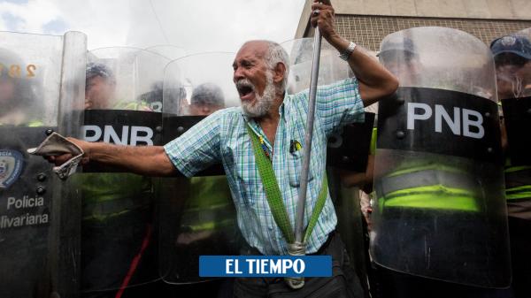 قتل عام توسط پلیس ملی بولیواری در کاراکاس – ونزوئلا – بین المللی