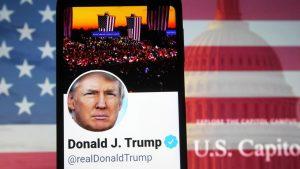 دونالد ترامپ  چگونه فن آوری های بزرگ و شبکه های اجتماعی ترامپ – ایالات متحده آمریکا و کانادا – بین المللی را ساکت کرده اند