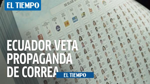 رافائل کره: تبلیغات انتخاباتی با تصویر رئیس جمهور سابق اکوادور – آمریکای لاتین – بین المللی متوقف شده است