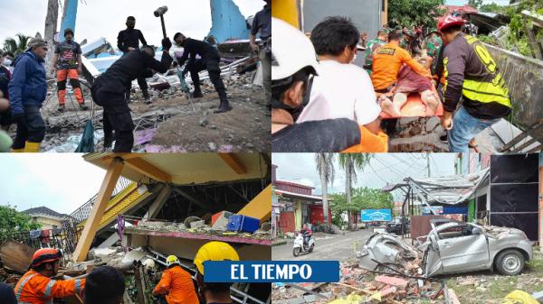 زلزله در اندونزی: عکس هایی از تخریب جزیره Celebes – آسیا – بین المللی
