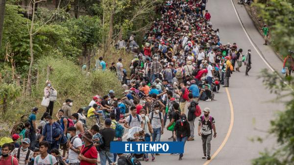 کاروان هزاران مهاجر هندوراسیایی به ایالات متحده – آمریکای لاتین – بین المللی