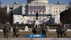 پایتخت ایالات متحده در واشنگتن به دلیل تهدید امنیتی – ایالات متحده و کانادا – بین المللی بسته شده است