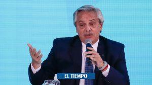 رئیس جمهور آرژانتین برای سفر با هلیکوپتر با سگ خود – آمریکای لاتین – بین المللی انتقاد شد