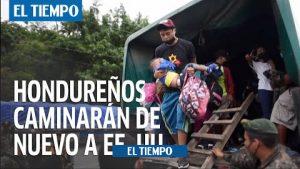 برخی از هندورایی ها به دلیل فقر در کشور خود – آمریکای لاتین – بین المللی اصرار به رفتن به ایالات متحده دارند