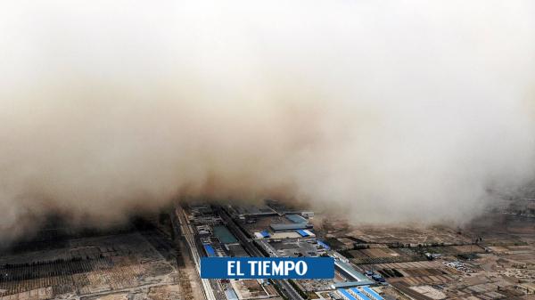 طوفان شن یک شهر کامل را در روسیه – مناطق بیشتر – بین المللی دفن می کند