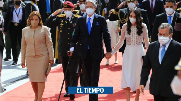 گیلرمو لاسو امروز به عنوان رئیس جمهور اکوادور – آمریکای لاتین – بین المللی سوگند یاد کرد