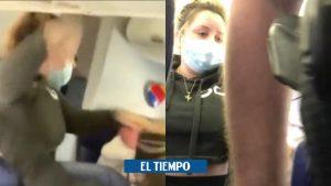 ایالات متحده آمریکا: مهماندار هواپیما در میانه پرواز توسط مسافری مورد ضرب و شتم قرار گرفت – ایالات متحده آمریکا – بین المللی