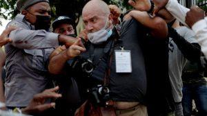 اعتراضات علیه کوبا: محکوم کردن سرکوب معترضین و مطبوعات – آمریکای لاتین – بین المللی