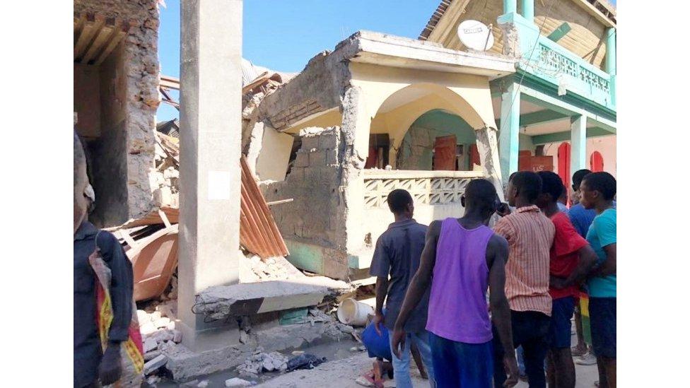 Read more about the article هائیتی: چرا زمین لرزه های زیادی در جزیره وجود دارد؟  – بین المللی