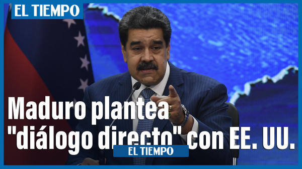 "Read more about the article مادورو برای از سرگیری روابط پیشنهاد ""گفتگوی مستقیم"" با ایالات متحده را مطرح می کند"